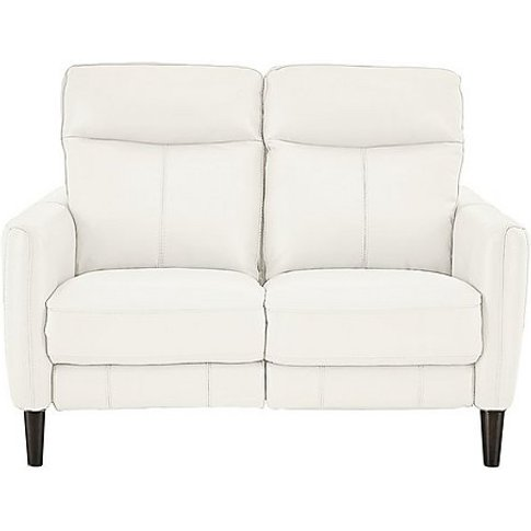 Compact Collection Petit 2 Seater Leather Sofa- Worl...