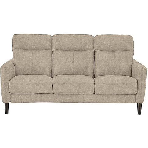 Compact Collection Petit 3 Seater Fabric Recliner So...