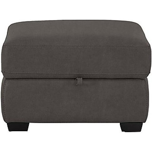 Compact Collection Petit Fabric Storage Footstool - ...
