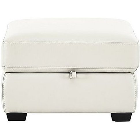 Compact Collection Midi Leather Footstool- World Of ...