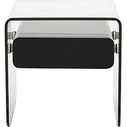 Vidrio Lamp Table - Black