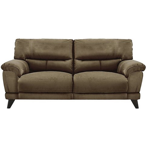 Pacific 2.5 Seater Fabric Sofa - Brown - By Furnitur...
