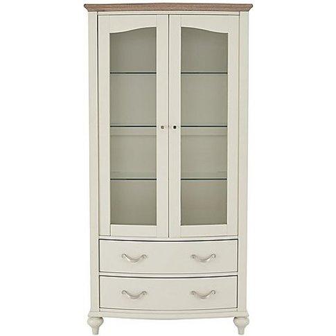 Furnitureland - Annecy Display Cabinet - Grey