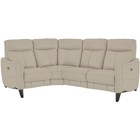 Compact Collection Petit Leather Corner Sofa- World ...