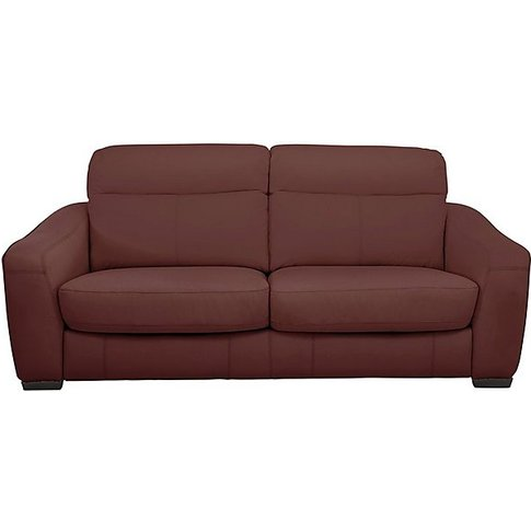 Cressida 3 Seater Leather Recliner Sofa- World Of Le...