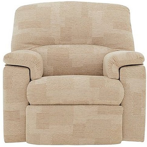 Chloe Fabric Recliner Armchair