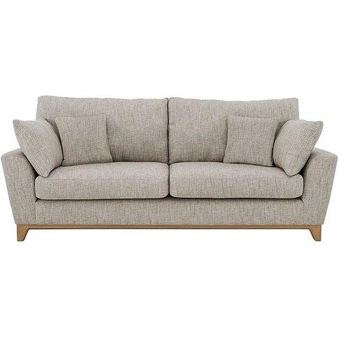 Ercol - Novara Grand Fabric Sofa - Grey
