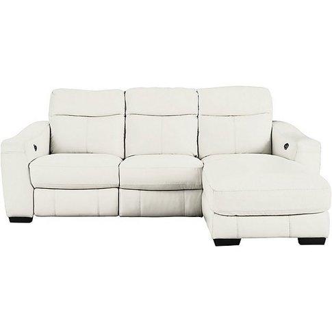 Cressida Leather Corner Chaise Recliner Sofa- World ...