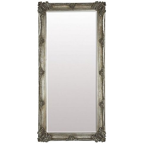 Abbey Leaner Mirror - Silver - By Furniture Village