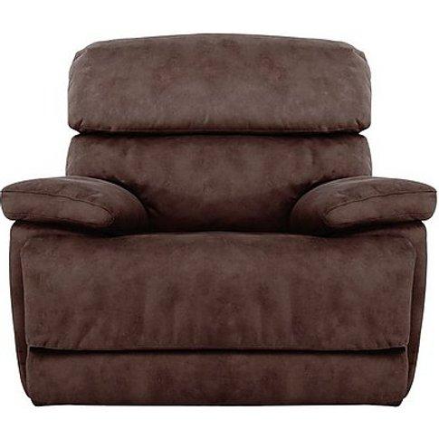 Cupola Fabric Recliner Armchair