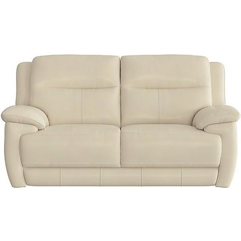 World Of Leather - Touch 2 Seater Leather Recliner S...