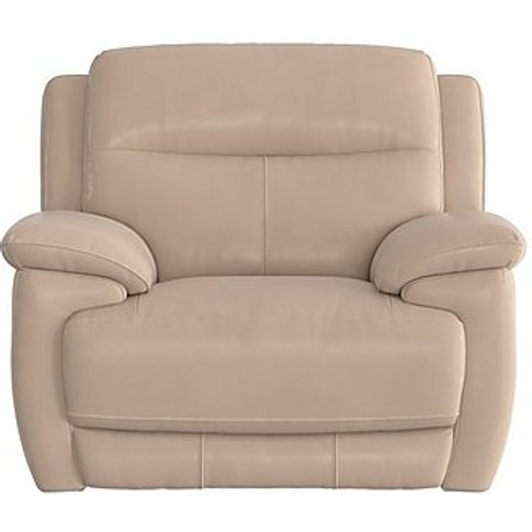 Touch Leather Recliner Armchair