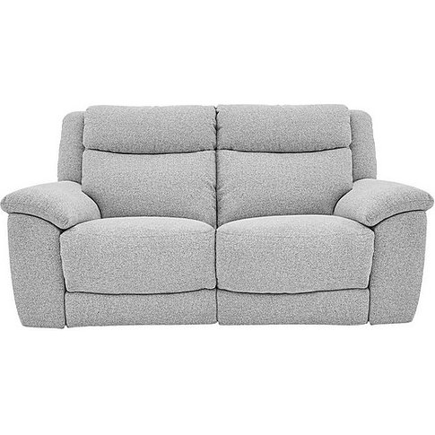 Bounce 2 Seater Fabric Recliner Sofa
