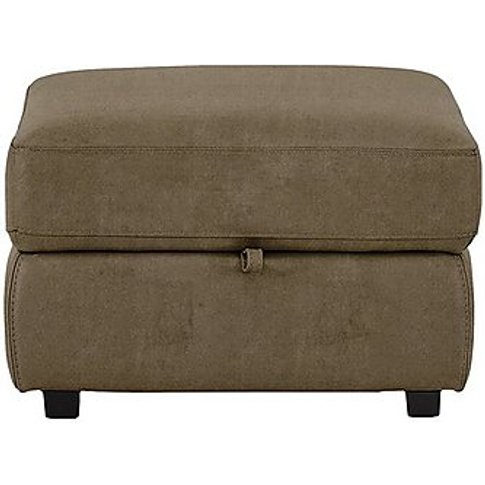 Bounce Fabric Storage Footstool