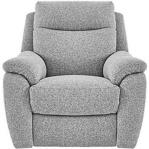 Snug Fabric Armchair