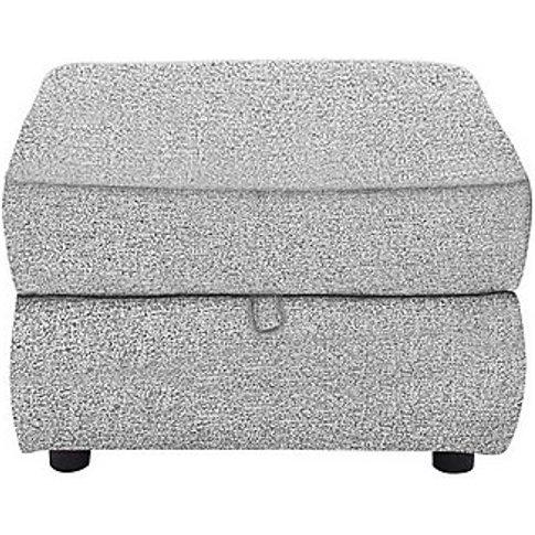 Snug Fabric Storage Footstool