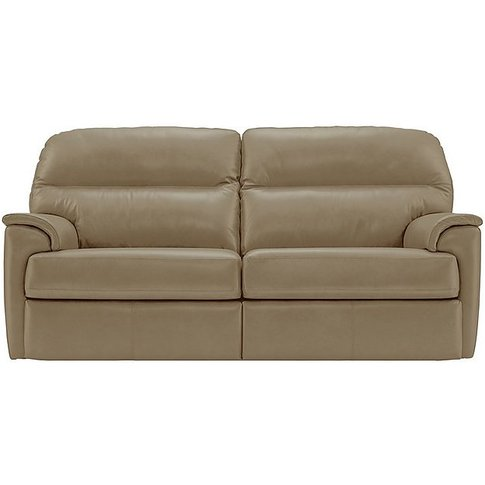Watson 3 Seater Leather Recliner Sofa
