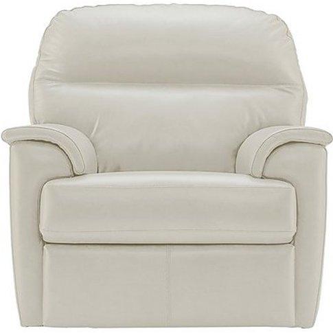 G Plan - Watson Leather Power Recliner Armchair