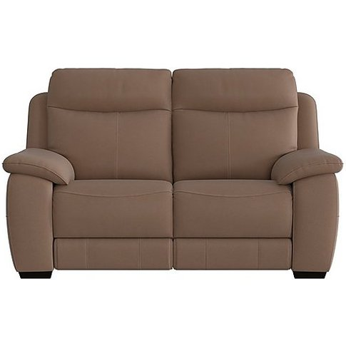 Starlight Express 2 Seater Fabric Recliner Sofa - Br...