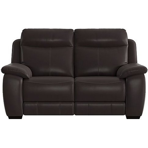 Starlight Express 2 Seater Leather Recliner Sofa - B...