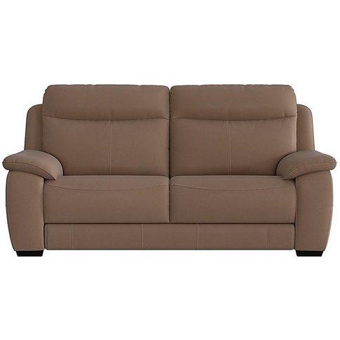 Starlight Express 3 Seater Fabric Recliner Sofa - Brown