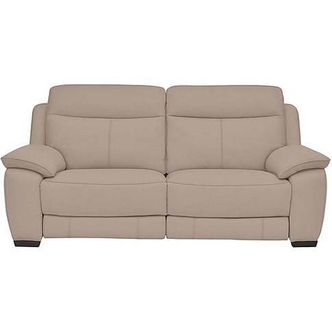 Starlight Express 3 Seater Leather Sofa- World Of Le...