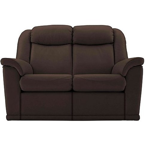 G Plan - Milton 2 Seater Leather Manual Recliner Sofa