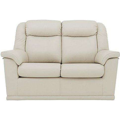 G Plan - Milton 2 Seater Leather Sofa