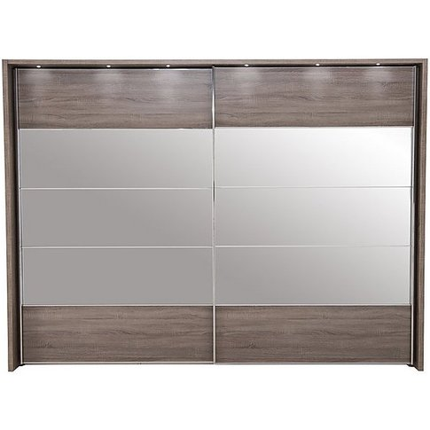 Wiemann - Laguna 2 Door Slider Wardrobe With Lights ...