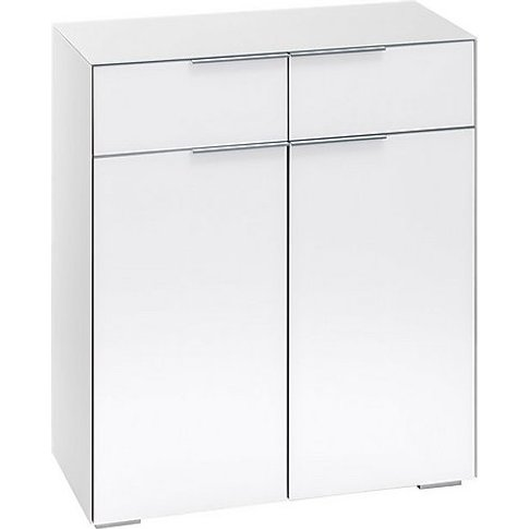 Wall Street Storage Cupboard - White