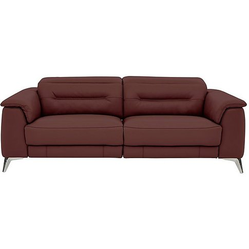 World Of Leather - Sanza 3 Seater Leather Power Recl...