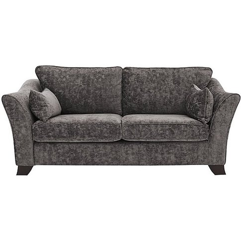 Annalise Ii 3 Seater Fabric Sofa - Grey - By Furniture Village