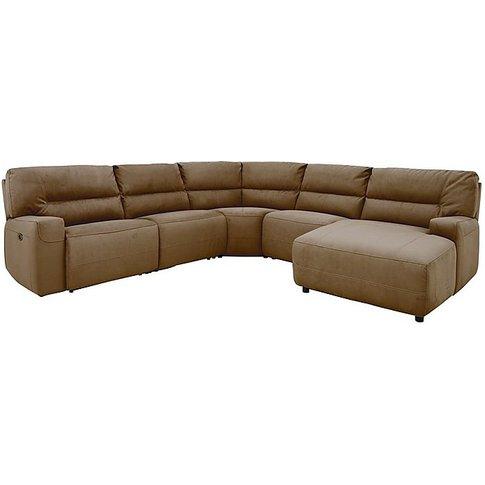 Eden Fabric Recliner Corner Sofa