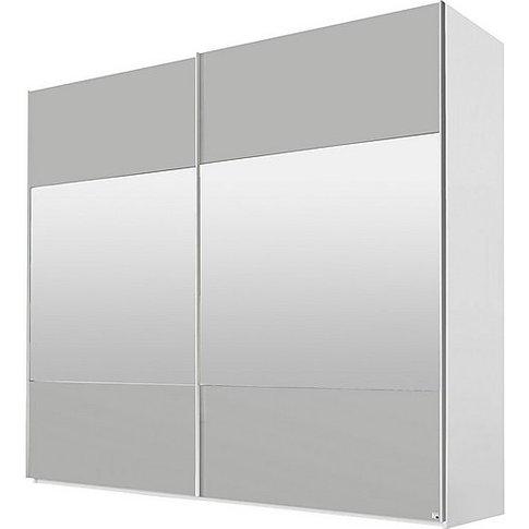 Rauch - Sydney 260cm 2 Door Sliding Wardrobe - Grey