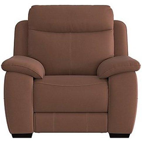 Starlight Express Fabric Armchair - Brown
