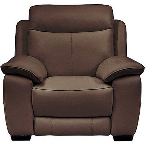 Starlight Express Leather Power Recliner Armchair - ...