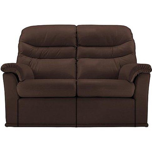 G Plan - Malvern 2 Seater Leather Sofa - Brown