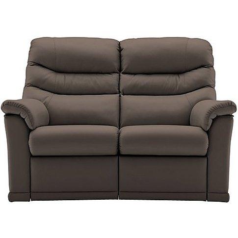 G Plan - Malvern 2 Seater Leather Sofa
