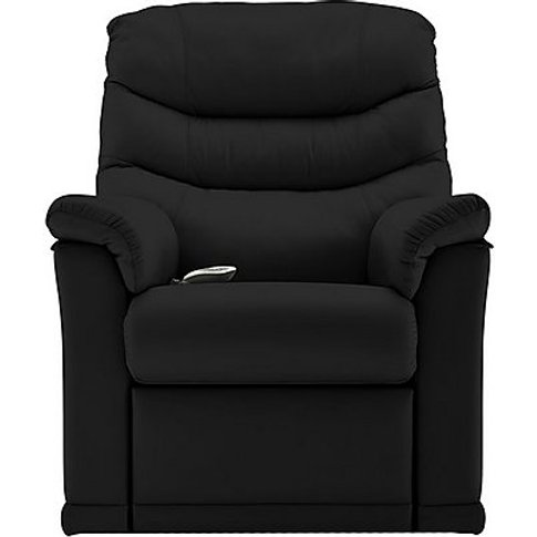 G Plan - Malvern Leather Small Rise And Recliner Arm...