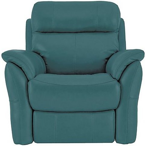 Relax Station Revive Leather Power Recliner Armchair...