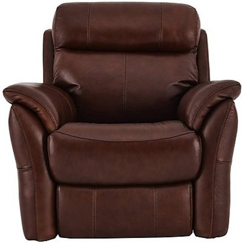 Relax Station Revive Leather Power Recliner Armchair