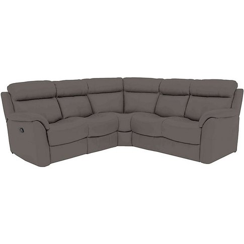 Relax Station Revive Leather Power Recliner Corner S...