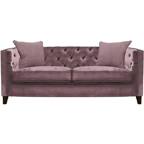 Tetrad - Battersea Midi Fabric Sofa - Pink