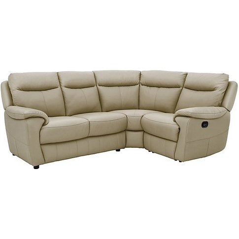 World Of Leather - Touch Compact Leather Recliner Co...