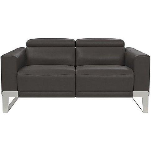 Nicoletti - Azione 2 Seater Leather Sofa With Ratche...