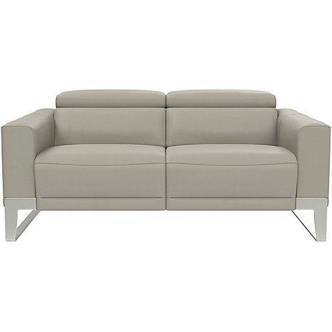 Nicoletti - Azione 2.5 Seater Leather Sofa With Ratc...