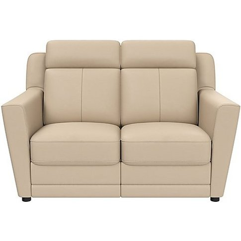Nicoletti - Lucano 2 Seater Leather Power Recliner Sofa With Power Headrests - Beige
