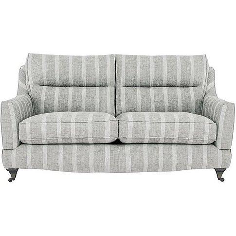 Fairfield 2.5 Seater Classic Back Fabric Sofa - Grey...