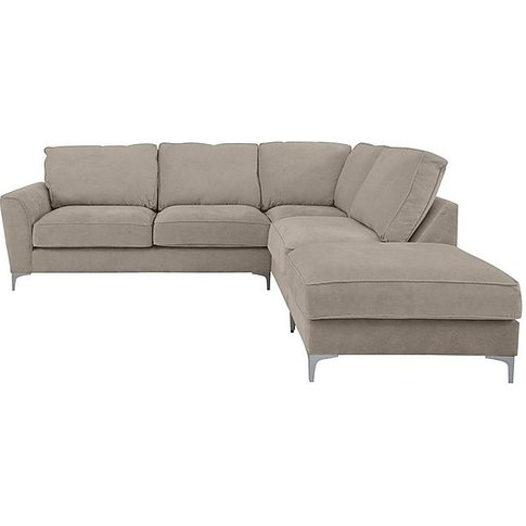 Legend Classic Back Luxury Fibre Fabric Corner Sofa