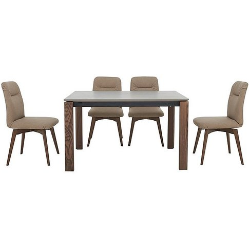 Calligaris - New Eminence Dining Table And 4 Fixed C...